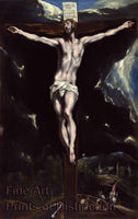 Christ on the Cross by El Greco Art Print