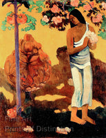 The Month of Mary or Te Avae No Maria painted by Paul Gauguin