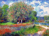 Chestnut in Bloom by Pierre Auguste Renoir