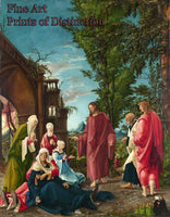 Christ Taking Leave of His Mother by Albrecht Altdorfer