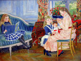 Children's Afternoon at Wargemont by Auguste Pierre Renoir