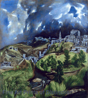 A View of Toledo by El Greco Art Print