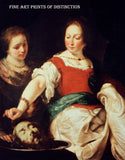 Salome painted by the Flemish Artist Bernardo Strozzi