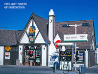 Sinclair 1950s era Gas Station Premium Print