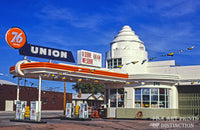 Union 76 Gas Station 1950s era Premium Print