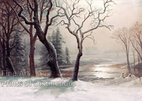 Winter in Yosemite by Albert Bierstadt