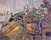 Pot of Flowers by Edouard Vuillard