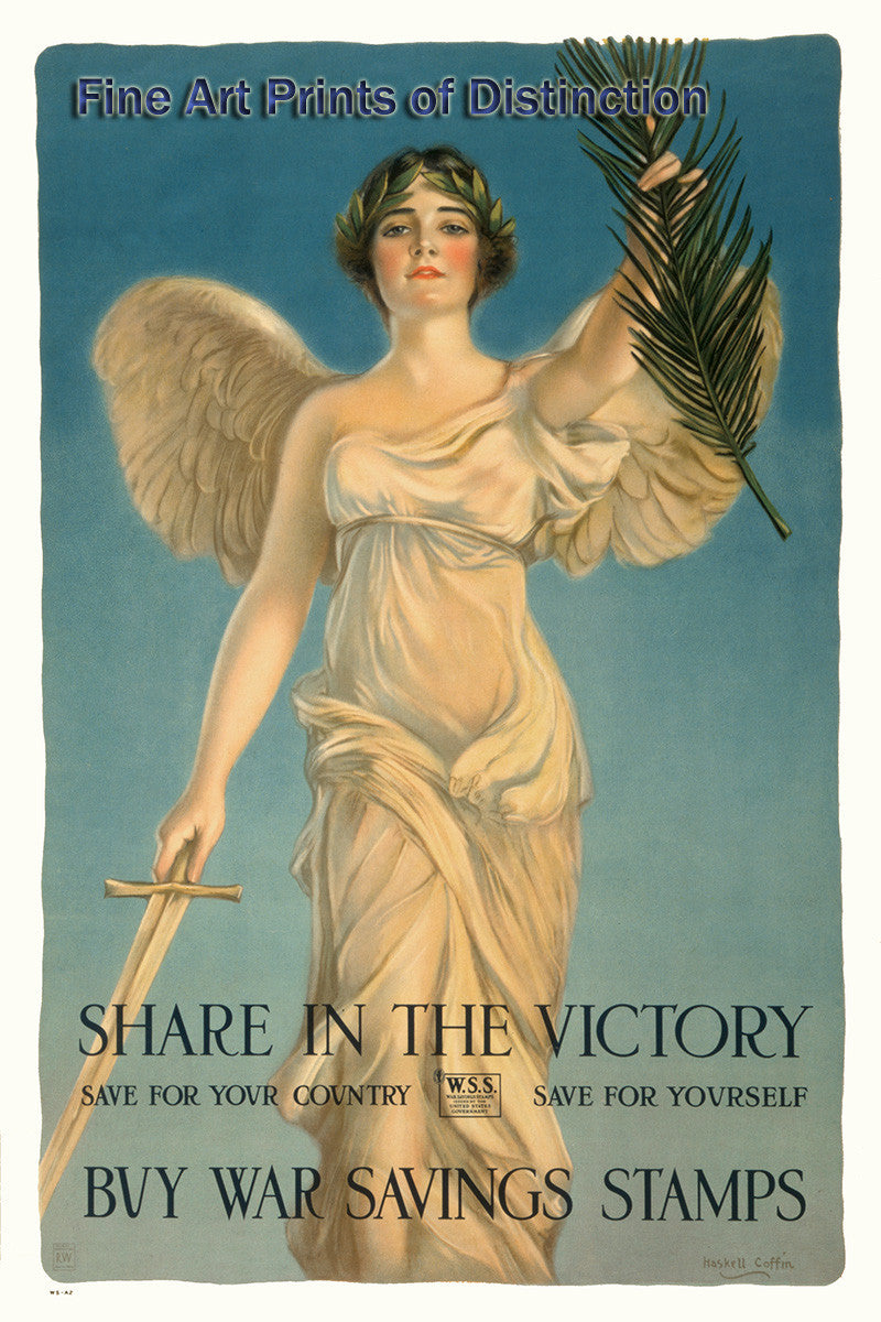 Share in the Victory World War I Poster