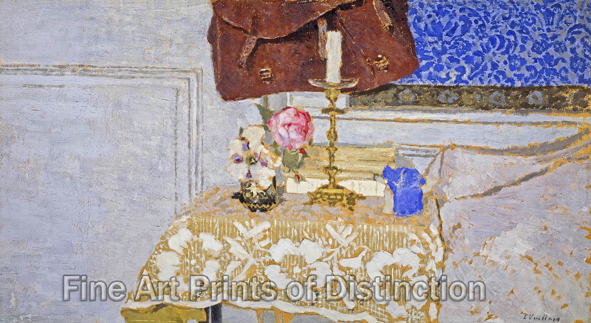 The Candlestick by Edouard Vuillard Art Print