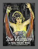 The Vampire in A Fool There Was Movie Poster