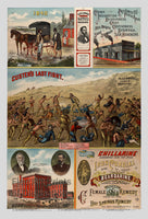 C. F. Simmons Medicine Company Advertising Lithograph Print