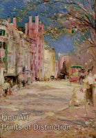 Boston Street Scene by Edward Mitchell Bannister