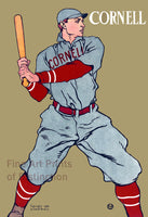 Cornell Baseball Player from 1908