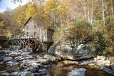 Glade Creek Grist Mill in West Virginia Art Print