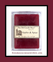 Melters 6 pack Apples and Spice from Old Candle Barn in Lancaster County