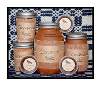 Cinnamon Apple scented primitive candle jars, tarts and room sprays by Black Crow
