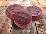 McCall's Cinnamon and Cranberries Candle Buttons