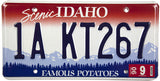 2006 Idaho License Plates