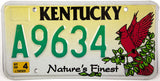 2005 Kentucky Cardinal License Plate
