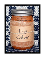 Log Cabin Primitive Candles, Tarts and Room Spray by Black Crow