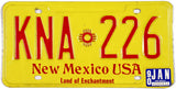 1990 New Mexico License Plate