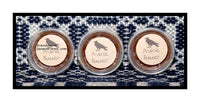 Prairie Butter set of 3 tarts made by Black Crow candle company