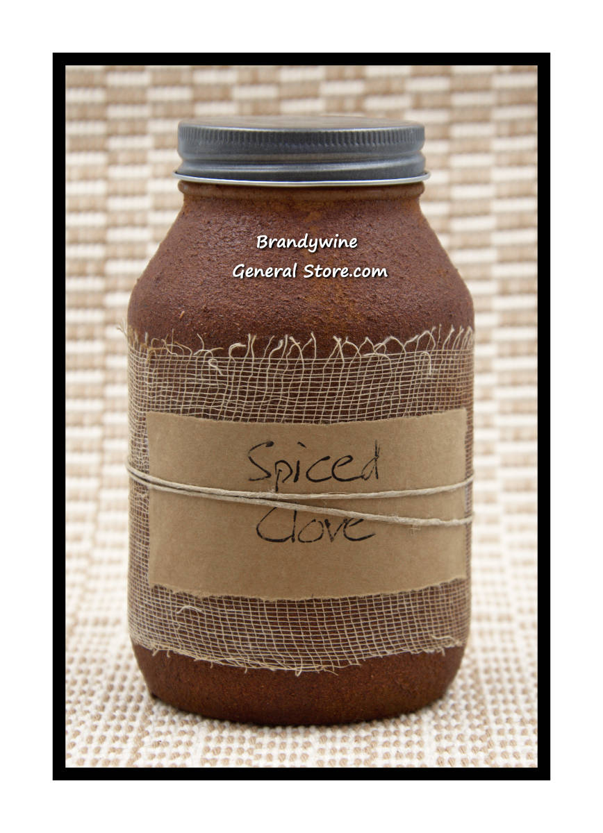 Spiced Clove 32 Ounce Jar