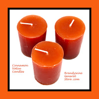 Set of 3 Cinnamon Votive Candles