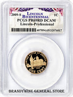 2009-S Lincoln Cent Professional Life PCGS Proof 69 Red Deep Cameo