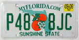 2006 Florida License Plate in very good plus condition