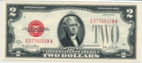 Fr 1508 Two Dollar Legal Tender Series1928G Certified