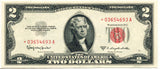 Fr 1512* 1953C 2.00 Legal Tender Note Certified
