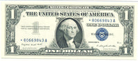 Friedberg 1620* One Dollar Silver Certificate 1957A Certified PMG 66 EPQ
