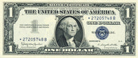 Fr 1621 Silver Certificate One Dollar Star Note Series 1957B