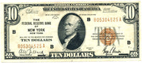 Fr 1860-B 10.00 Federal Reserve Bank Note 1929