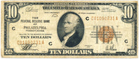 Fr 1860-C 10.00 Federal Reserve Bank Note 1929 Fine