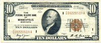 Fr 1860-I Ten Dollar Federal Reserve Bank Note 1929