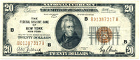 Fr 1870-B 20.00 Federal Reserve Bank Note 1929