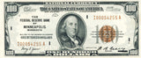 Fr 1890-I 100.00 Federal Reserve Bank Note 1929 Choice Uncirculated