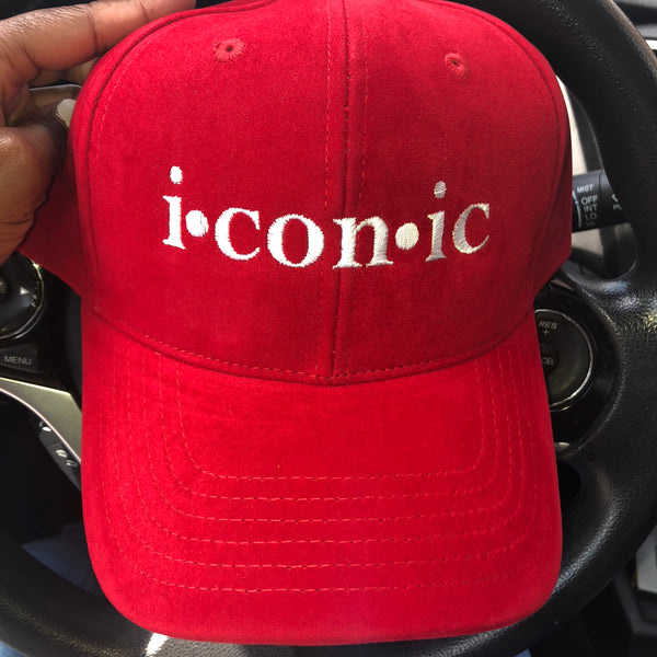 """Imaginary Player"" Dad Hat - Red"