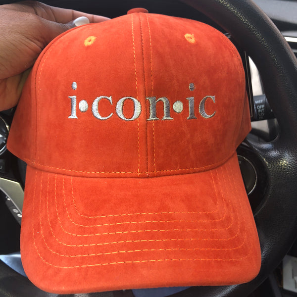 """Imaginary Player"" Dad Hat - Orange"