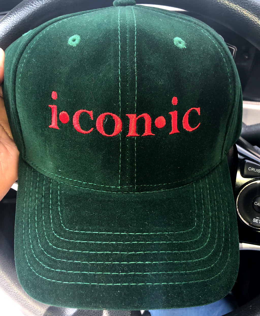 """Imaginary Player"" Dad Hat - Green/Red"