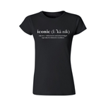 """Holy Grail"" Short Sleeve T-Shirt For Women (Black)"