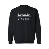 """Takeover"" Sweatshirt (Black)"