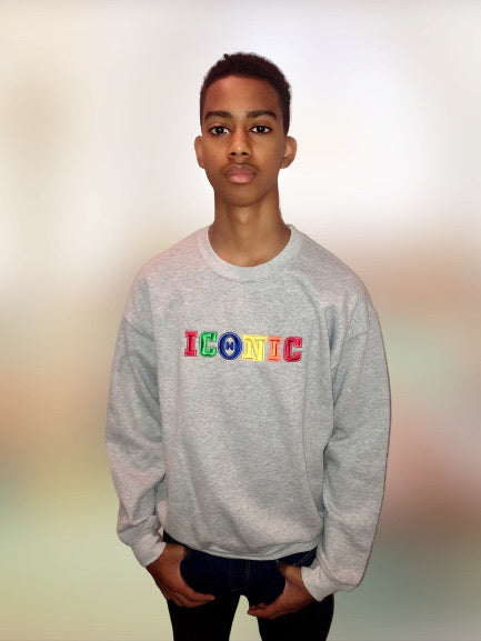 """Grade School"" Sweatshirt- Grey"