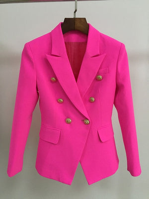 Open image in slideshow, Classic Blazer - Hot Pink