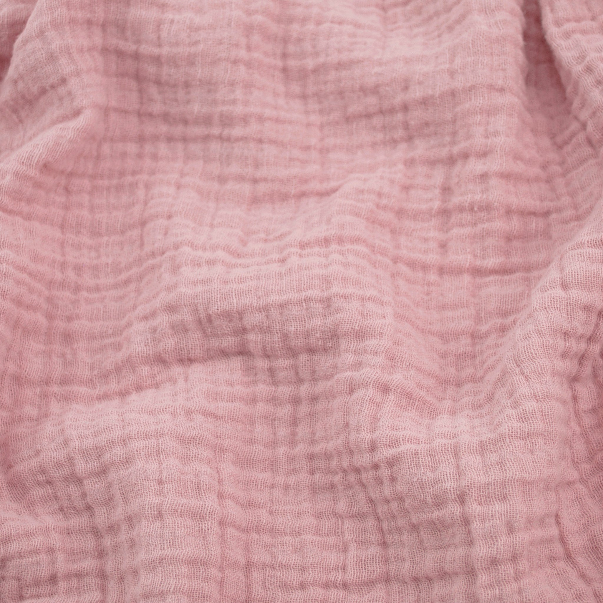 Sunny Double Gauze - Blush Pink - BACKORDERED UNTIL JUNE 2020