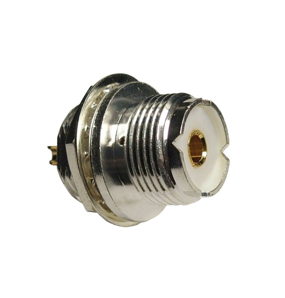 High Quality Silver Teflon Single Hole Mount Type SO239 UHF Connectors