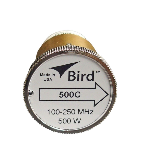 Bird 500C Plug-in Element 0 to 500 watts 100-250 MHz for Bird 43 Wattmeters