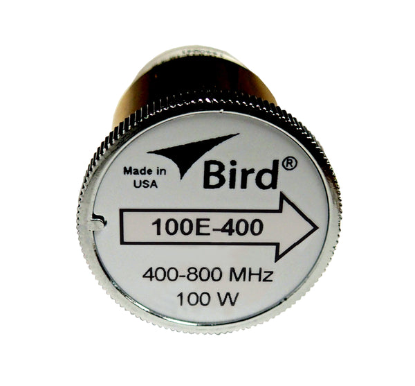 Bird 100E-400 Plugin Element 0 to 100 watts 400-800 MHz for Bird 43 Wattmeters